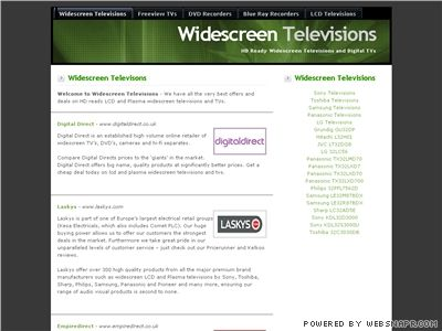 Widescreen Televisions